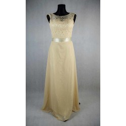 Dlouhé krajkové korzetové šaty vel 36