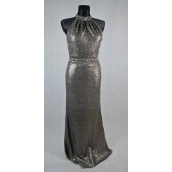 Flitrované dlouhé šaty vel 38