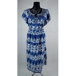 Letní šaty vzorované vel 46