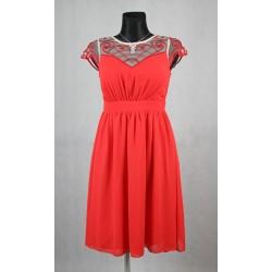 Červené šaty vel 36