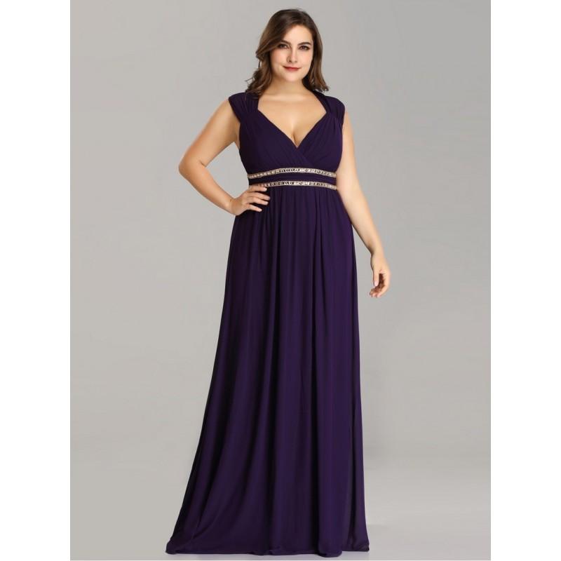Fialové šaty řecký styl EP08697