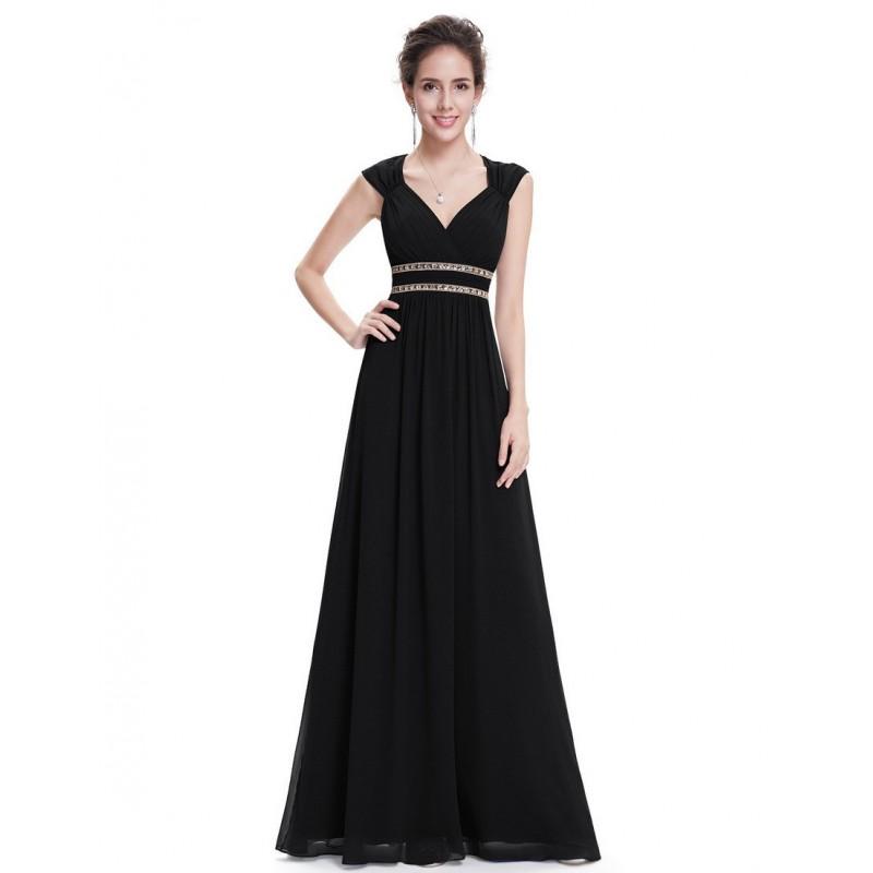 Černé šaty řecký styl EP08697