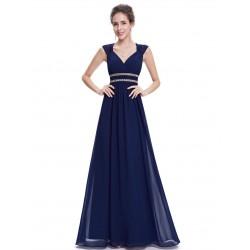 Tmavě modré šaty řecký styl EP08697