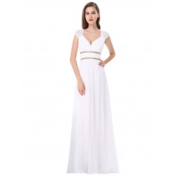Bílé šaty řecký styl EP8697WH