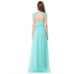 Tyrkysové šaty řecký styl EP08697