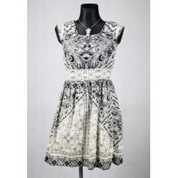 Letní vzorované šaty vel 36