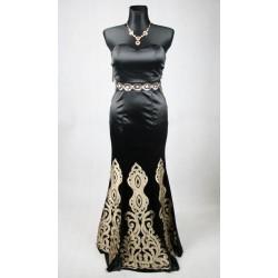 Společenské večerní černé šaty vel 36-38