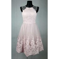 Fialkové Chi chi šaty vel 38
