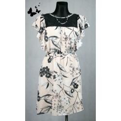 Květované letní šaty vel 44