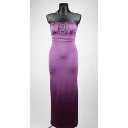 Fialové maxi šaty vel 36
