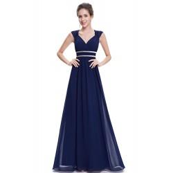 Tmavě modré šaty řecký...