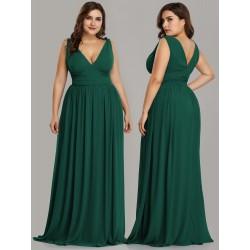 Sexy dlouhé šaty zelené...